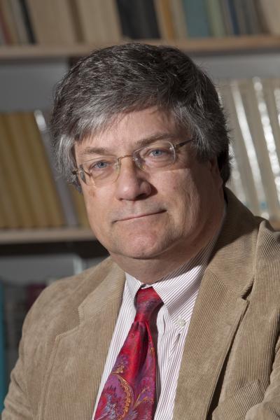 Jim Porter in his office